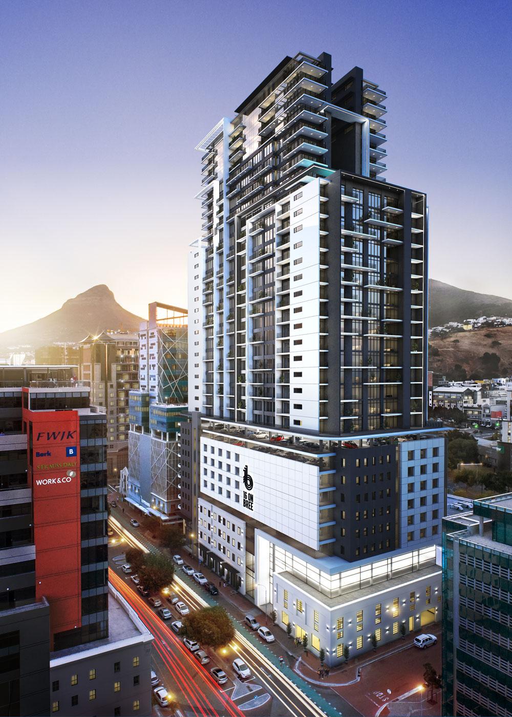 16 on Bree | Cape Town property development | FWJK